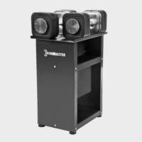 Ironmaster justerbara hantlar med vikter och stativ